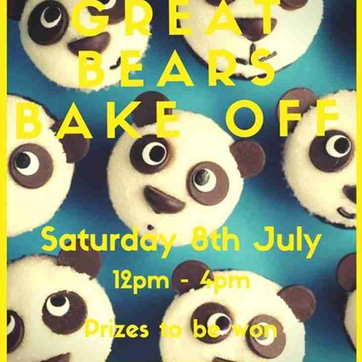The Great Bears Bake Off