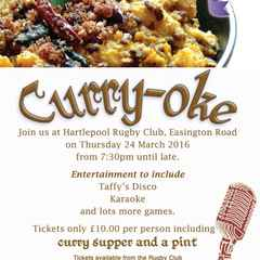 HRFC Delighted To Host Hospice Curry Night