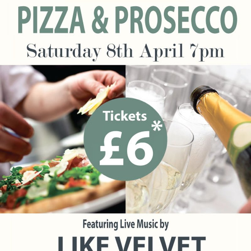 An Evening of Pizza & Prosecco