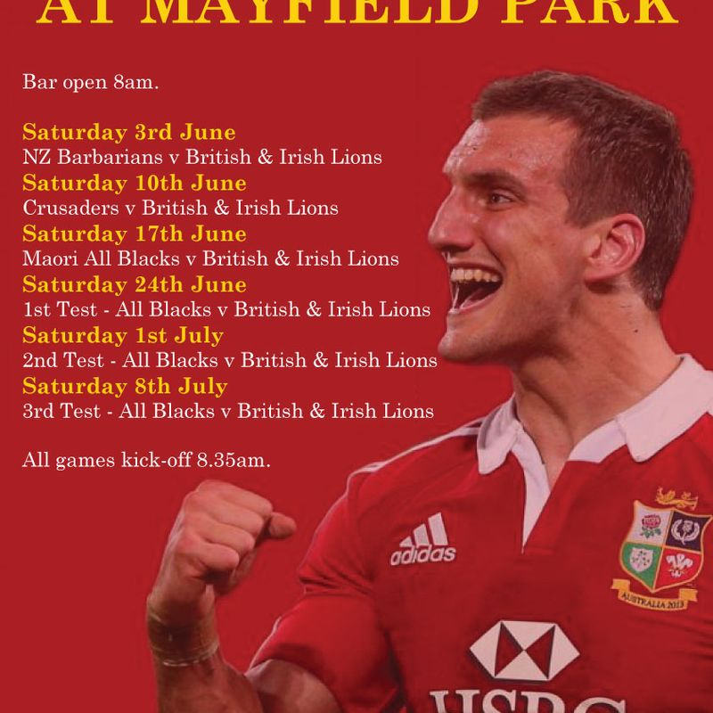 Lions Fever at Mayfield Park