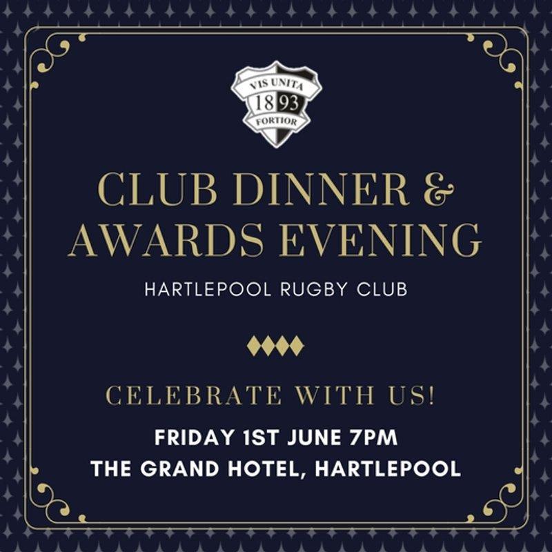Club Dinner & Awards Evening