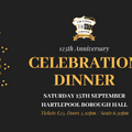 Book Now! For 125th Anniversary Celebration Dinner
