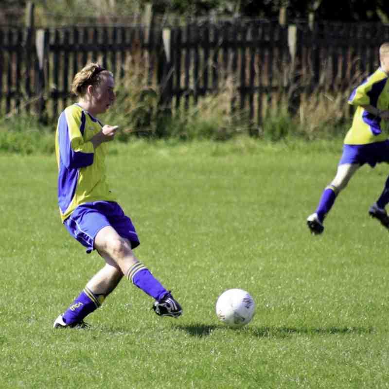 U18s New Fordley v TUFC