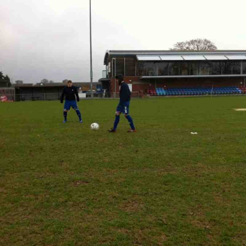Horley Town vs Chessington & Hook - 22 January 2011