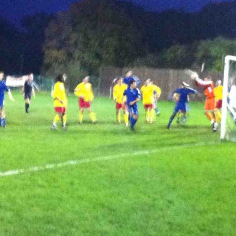 Chessington & Hook vs Raynes Park Vale - Saturday 12 November 2011