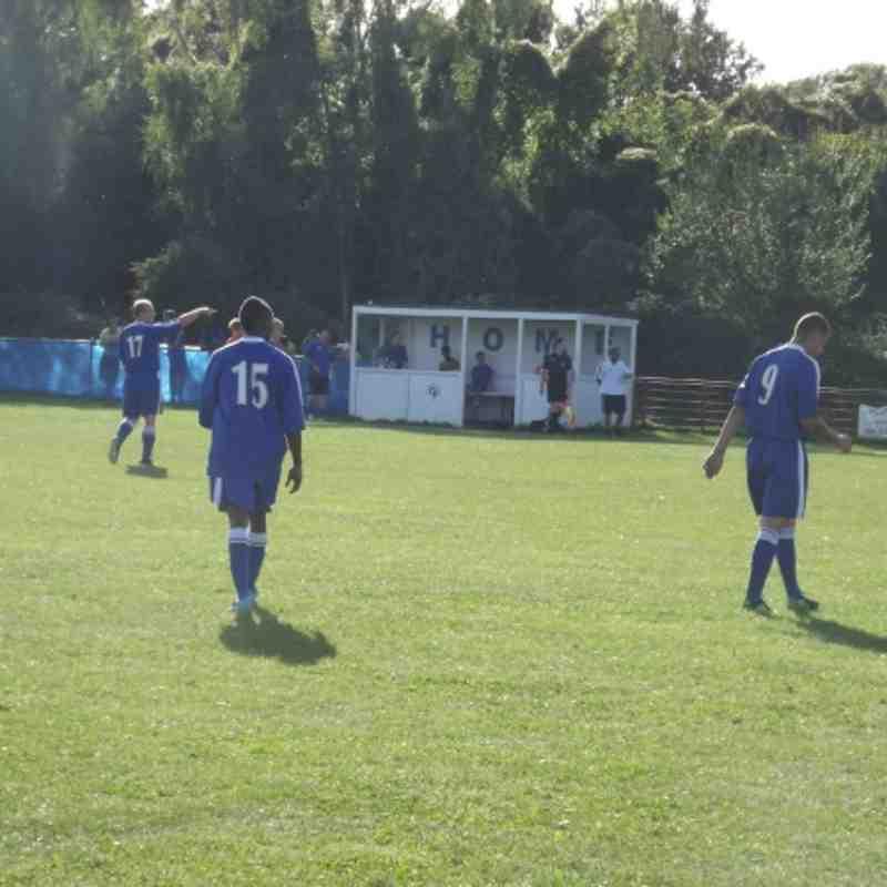 Chessington & Hook vs Hartley Wintney - Saturday 8th September 2012