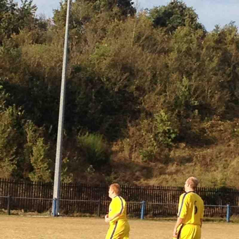 Sevenoaks vs Chessington & Hook 15 th September 2012