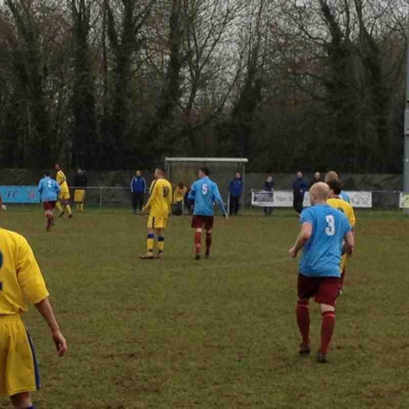 Horley vs Chessington & Hook - 9th March 2013