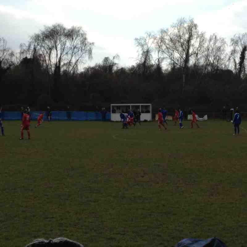 Chessington & Hook vs Windsor - 30th March 2013