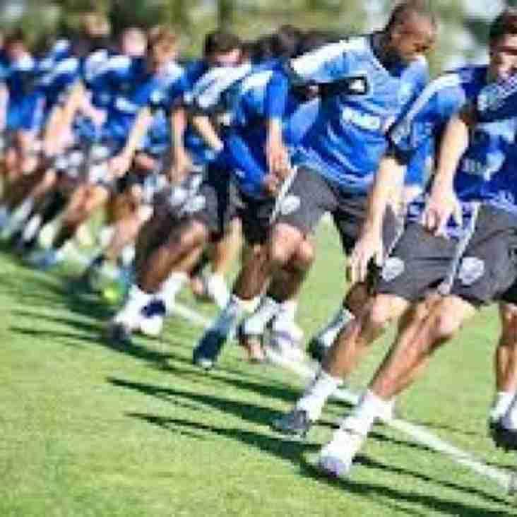 Senior Pre-Season Training