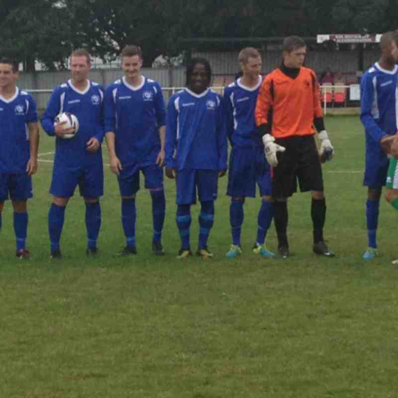 Chichester City vs Chessington & Hook - 17th August 2013