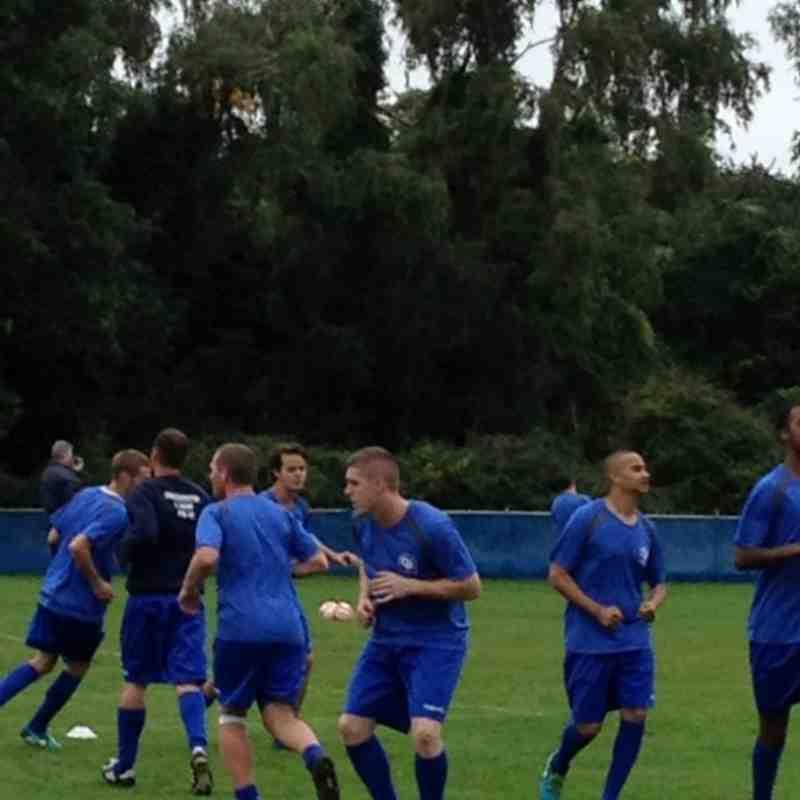 Chessington & Hook vs Dorking Wanderers - 21st September 2013