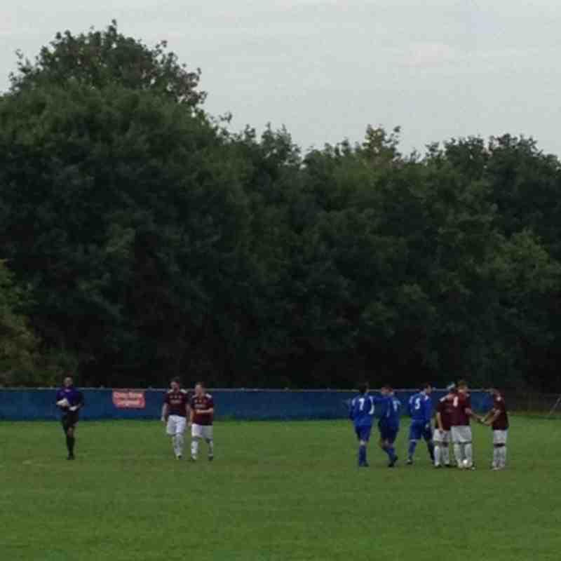 Chessington & Hook vs Farnham Town - 28th September 2013