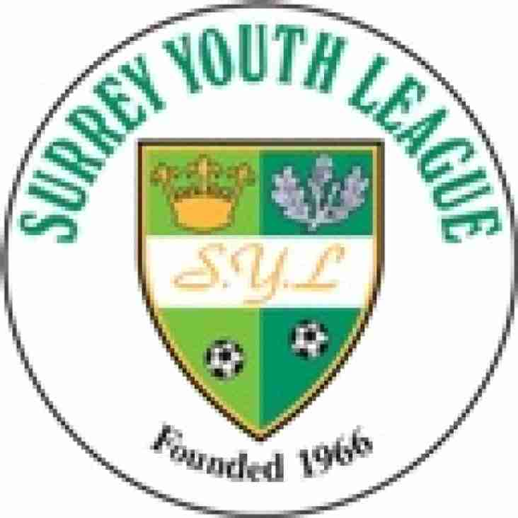 Message from the Surrey Youth League Chairman