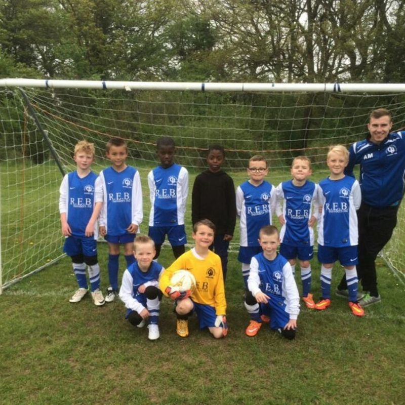 U12 Whites E&E lose to Horley Athletic Hurricanes 3 - 1