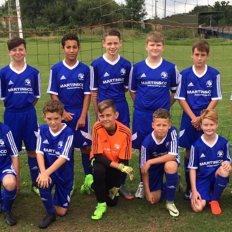 Hook Youth Whites 3 - 3 Old Coulsdon Colts Flyers