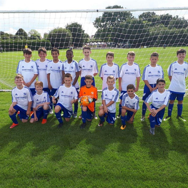 U13 Blues E&E beat A F C Ewell Eagles 7 - 1
