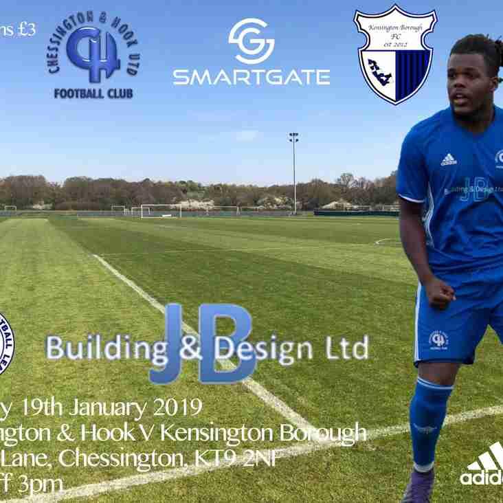 Chessy v Kensington Borough F.C.