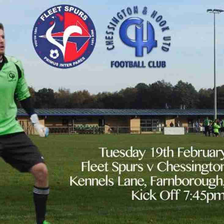 Chessy v Fleet Spurs