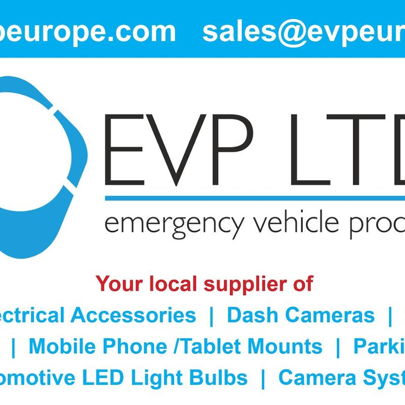 New two year sponsor for first team home kit is Emergency Vehicle Products Ltd