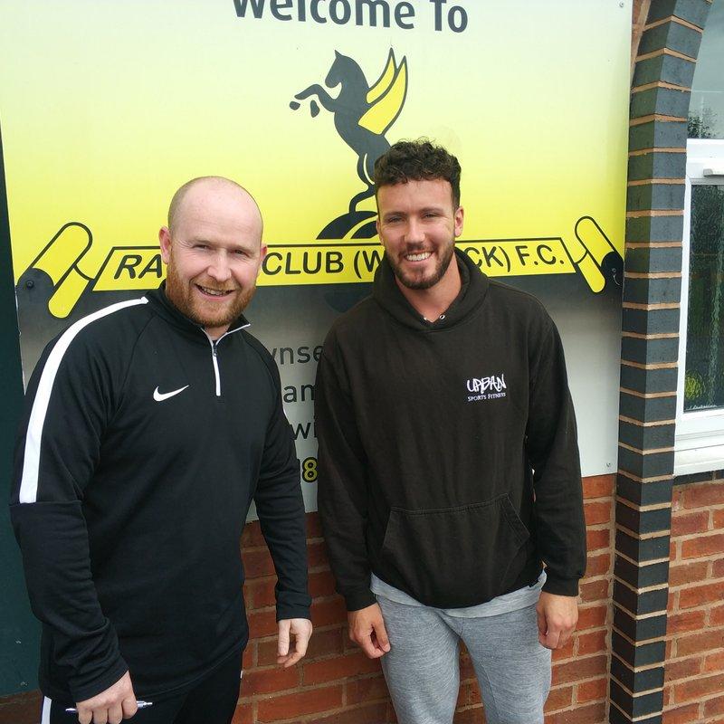 Racing Club Warwick sign Adam Knight