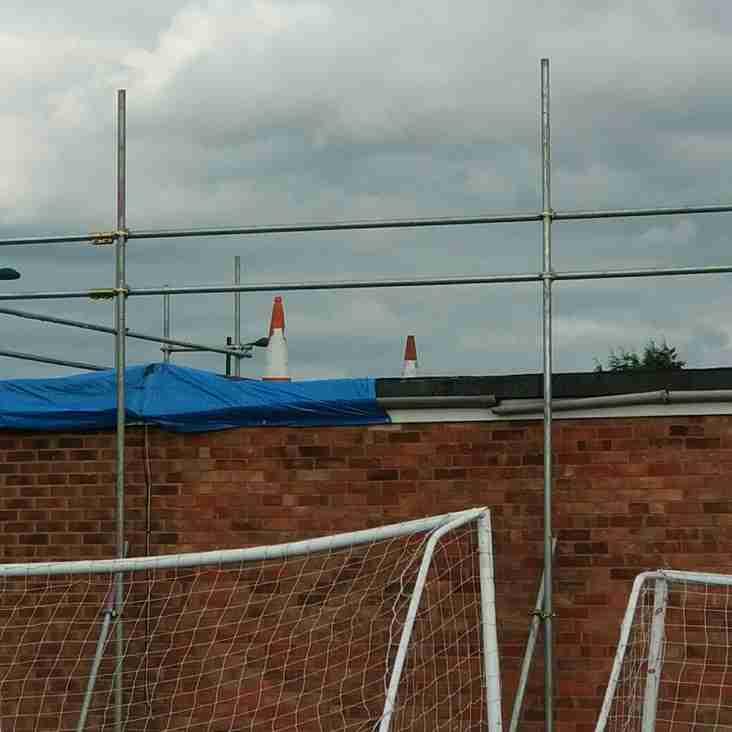 Major club refurbishment begins