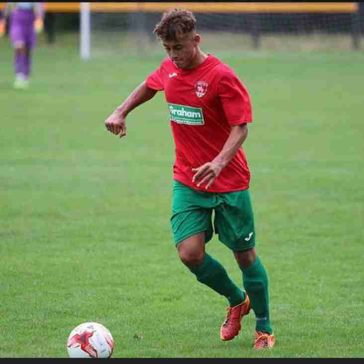 Lewis Hudson joins from Coventry United