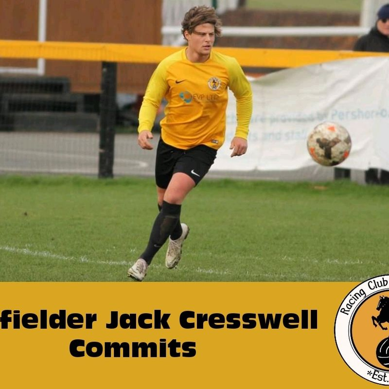 Jack back as Cresswell commits