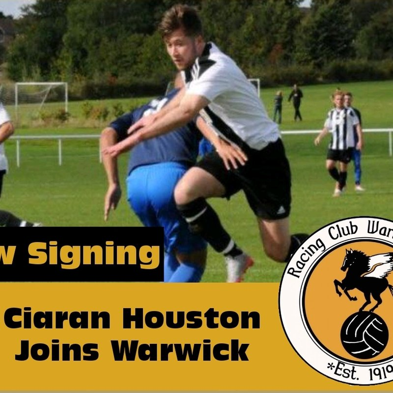 Ciaran Houston commits to Racing Club