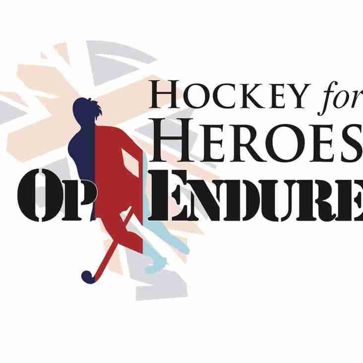 Hockey 4 Heroes Warm Up