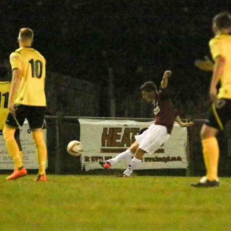 Potters Bar v Chesham United Southern League Cup photos