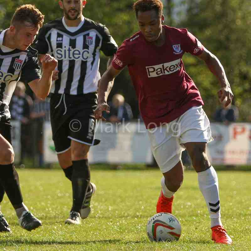 Potters Bar V Bath City - FA Cup