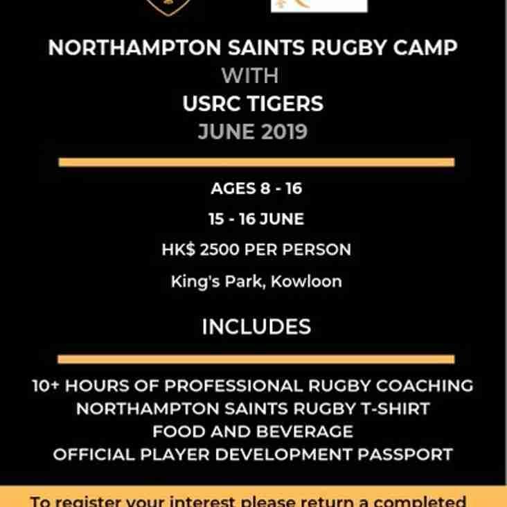 Northampton Saints with USRC Tigers