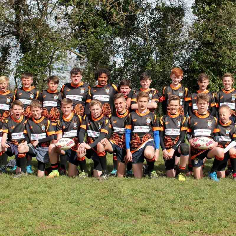 U13's Wild West tour  inc Vs Ivybridge April/May 2016