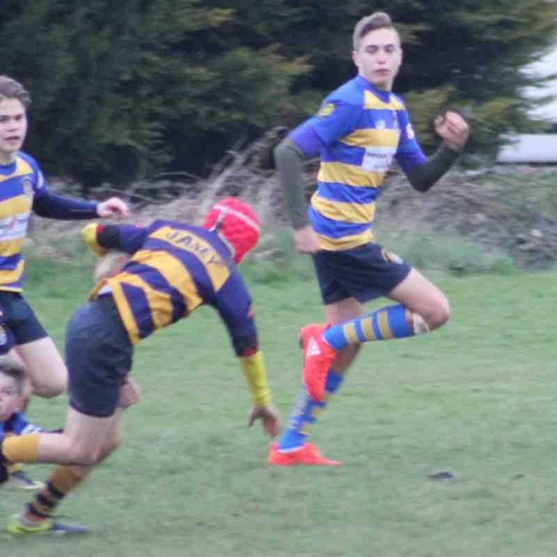 U14 A's Kent semi finals - Ashford 12/3/17