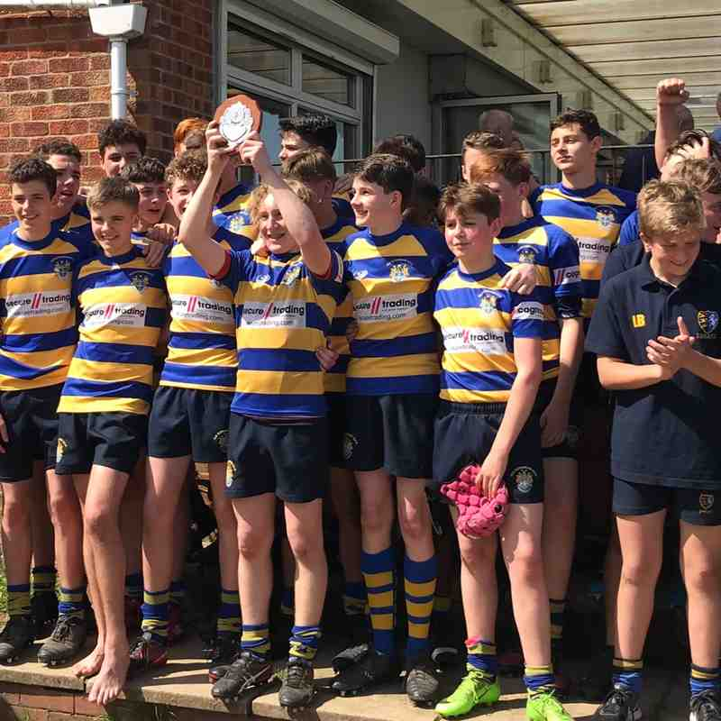 U15's Kent cup final - Moyse's monkeys retain their title