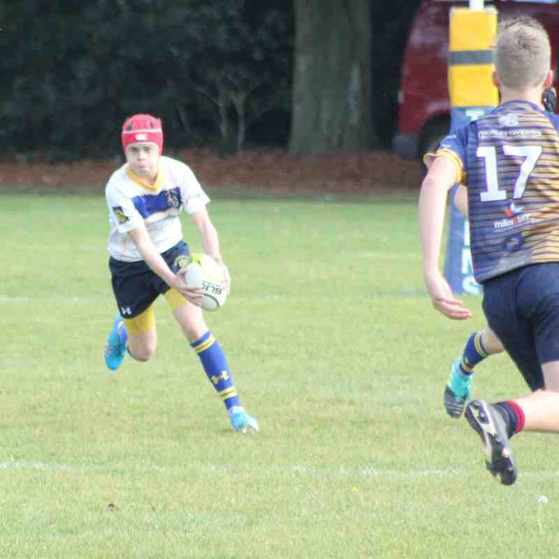 Kent Cup Thanet Wanderers Vs U16 B 14/10/18