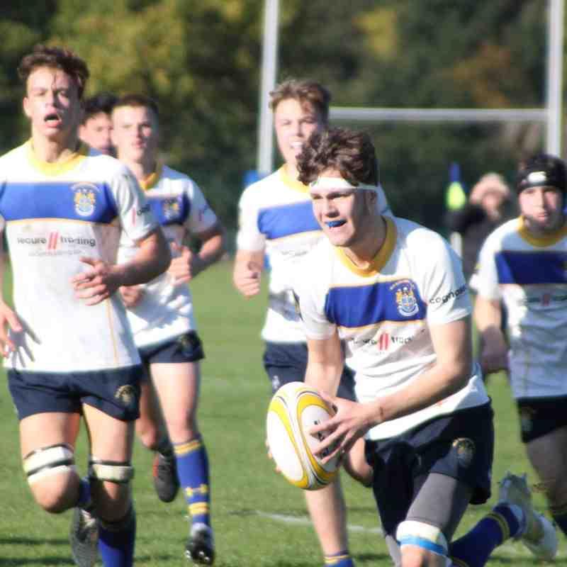U16's mixed squad vs Thurrock - 21/10/18