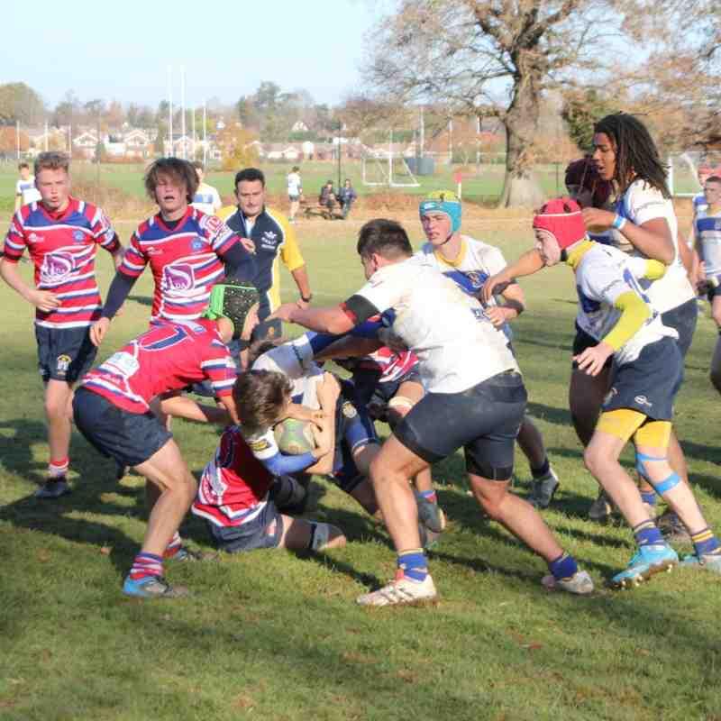 U16's Vs Judds Kent Cup 18/11/18