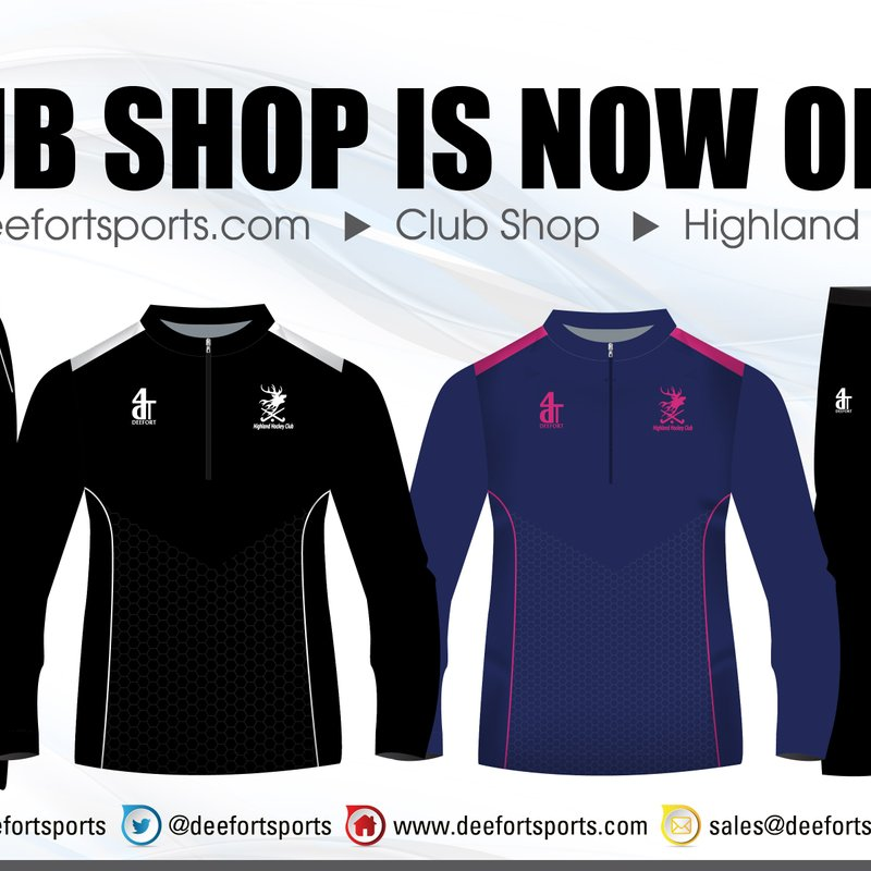 New items in the Club Shop!