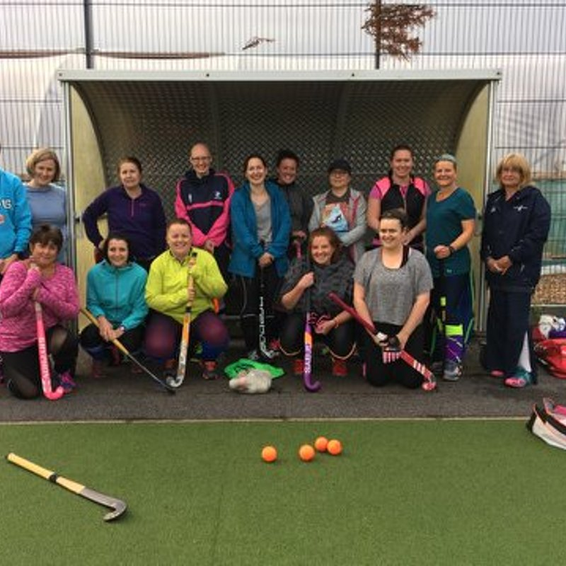 Launch night for O35s Women's Social