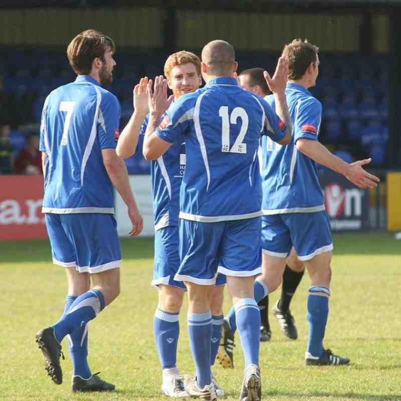 Tonbridge Angels v Carshalton Athletic - By Dave Couldridge