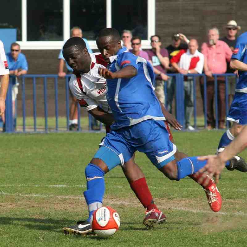 Tonbridge Angels v Hastings United - By Dave Couldridge