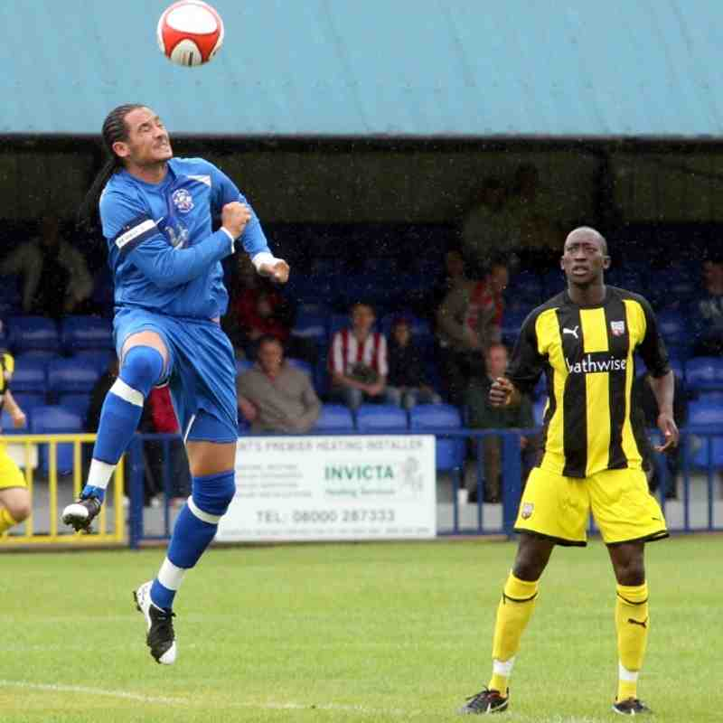 Tonbridge Angels v Brentford - By Dave Couldridge