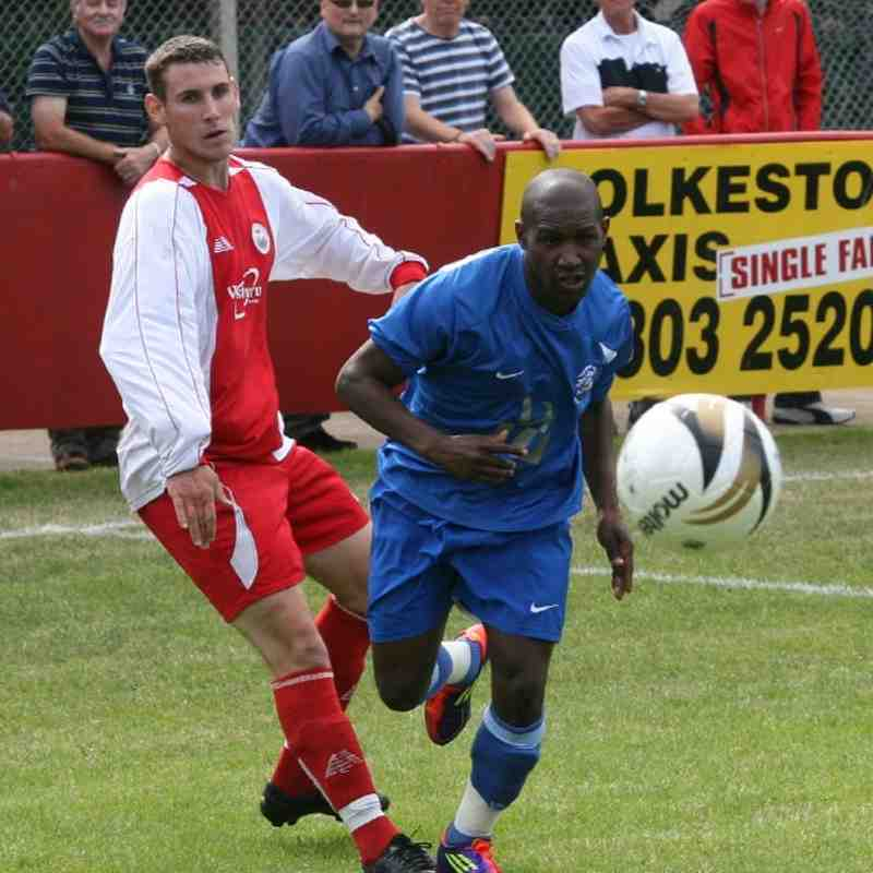 Hythe Town v Tonbridge Angels - By Dave Couldridge
