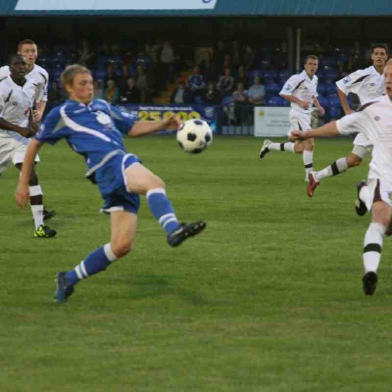 Tonbridge Angels v Sutton United - By Dave Couldridge