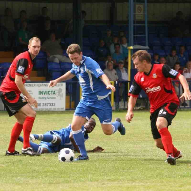 Tonbridge Angels v Eastleigh - By Dave Couldridge