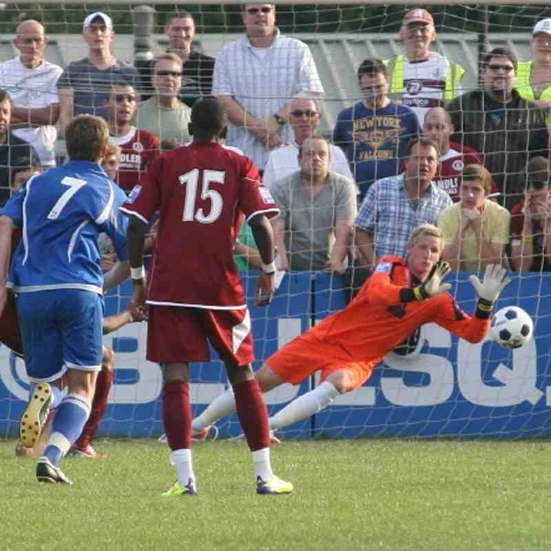 Chelmsford City v Tonbridge Angels - FA Cup - By Dave Couldridge