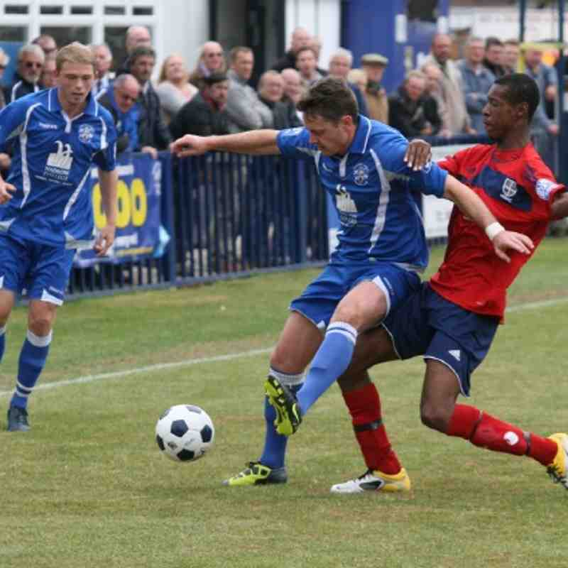 Tonbridge Angels v Hampton & Richmond Borough - By Dave Couldridge
