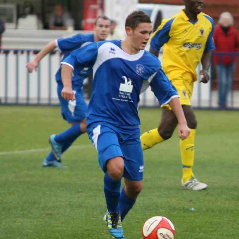 Reserves v AFC Wimbledon - By Dave Couldridge